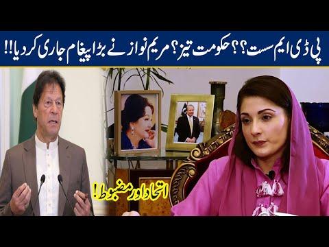 Maryam Nawaz Strong Replied on PDM Unity   Journalist's Question to Maryam Nawaz