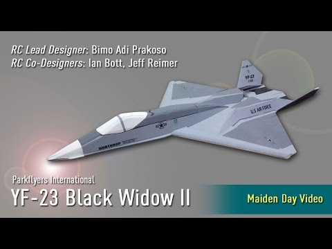 Tribute to Team Northrop/McDonnell Douglas: YF-23 Black Widow II Maiden Day Video