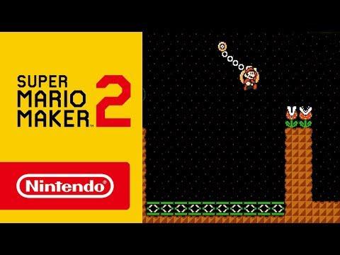 Super Mario Maker 2 - ¡Nuevos elementos de nivel, herramientas, funciones y más! (Nintendo Switch)
