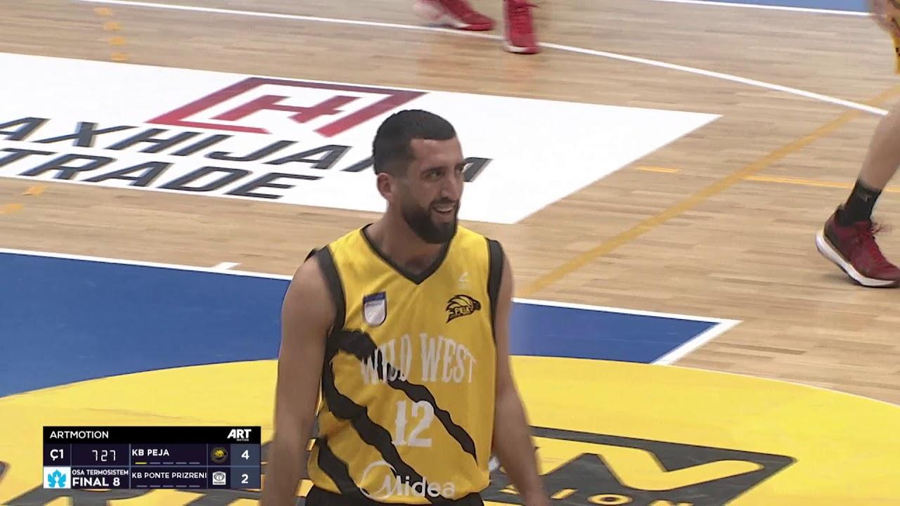 Final 8 - Peja vs Ponte Prizreni