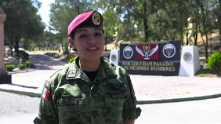 SEDENA Mujer, Militar Paracaidista y Madre de Familia 10 Mayo 2019