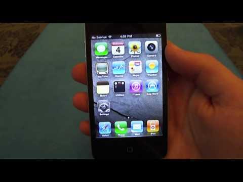How to Carrier Unlock iPhone 4 using Ultrasn0w
