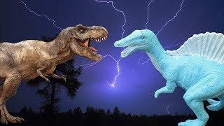Динозавры. СПИНОЗАВР ВЕРНУЛСЯ!!!  Призрак Торнадо!!! Мультики про динозавров на русском языке