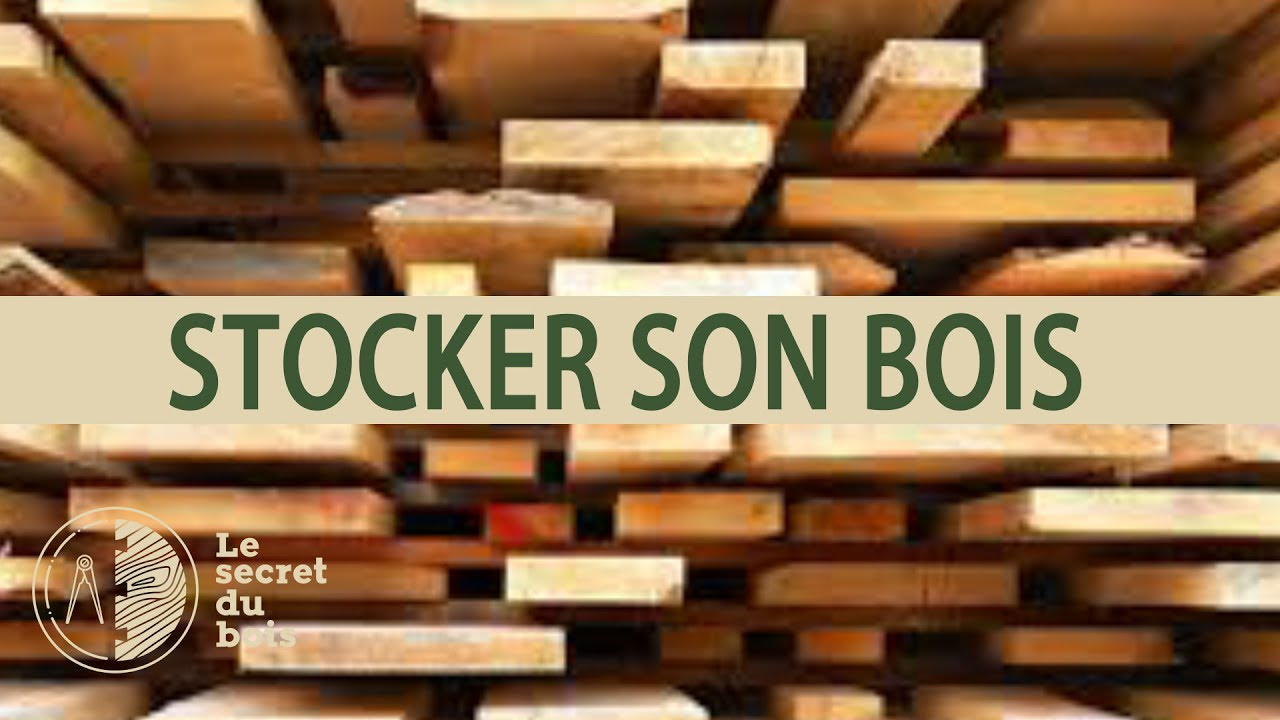 comment stocker son bois youtube. Black Bedroom Furniture Sets. Home Design Ideas