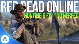 Red Dead Online: Update #1 Changes – Hunting & Fishing Nerfed, Money & Gold & Buffed & More!
