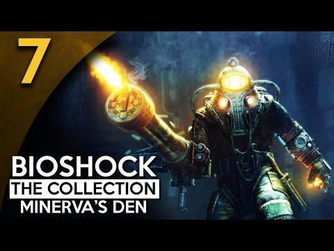 Let's Play BioShock 2 Minerva's Den Remastered Part 7 - Deep Freeze [BioShock Collection Gameplay]