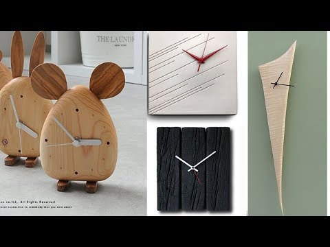 Innovative wall clock designs