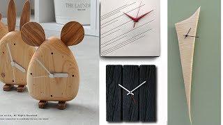 Innovative wall clock designs