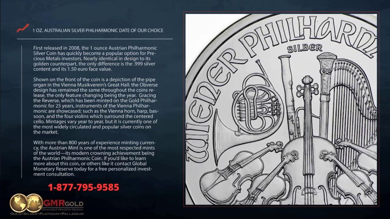 Austria 1 oz Silver Philharmonic Coin