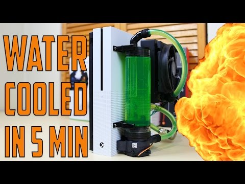Water Cooled XBOX One S in 5 Minutes