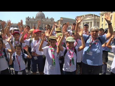"""""""Since Pio XII, I've taken children to meet the pope at the General Audience"""""""
