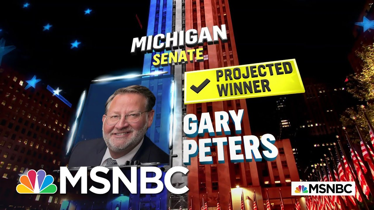 NBC News projects Peters will defeat challenger James
