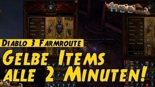 Diablo 3 Inferno Akt I Farming Route: Gelbe Items alle 2 Minuten!!! Patch 1.0.3, Barbar PoV