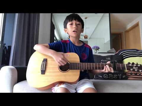 More Than You Know - Axwell Λ Ingrosso - cover by Jadon Quah - #jadonGuitar - kids, children guitar