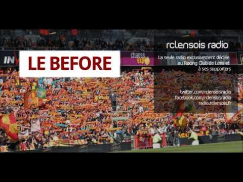 rclensois radio - Le Before - Lyon-RC Lens - 12-02-2014