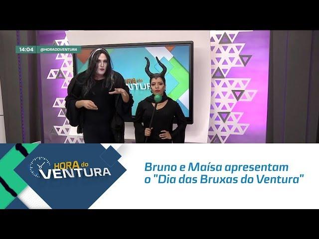 """Bruno e Maísa apresentam o """"Dia das Bruxas do Ventura"""" - Bloco 01"""