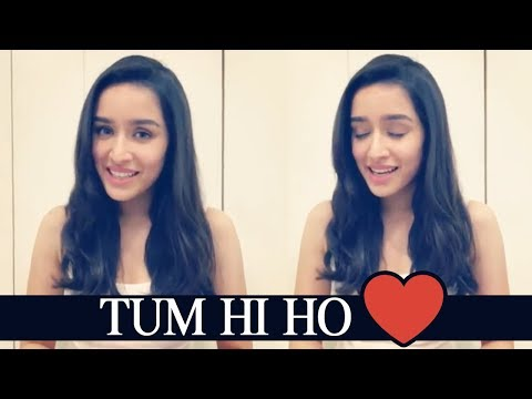 Bollywood Actress Shraddha Kapoor Sings Tum Hi Ho Song From Aashiqui 2 | TFPC