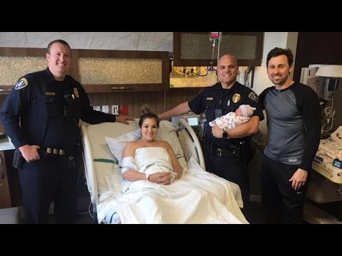 Mom Names Baby Boy After Officers Who Helped Deliver Him In Parking Lot