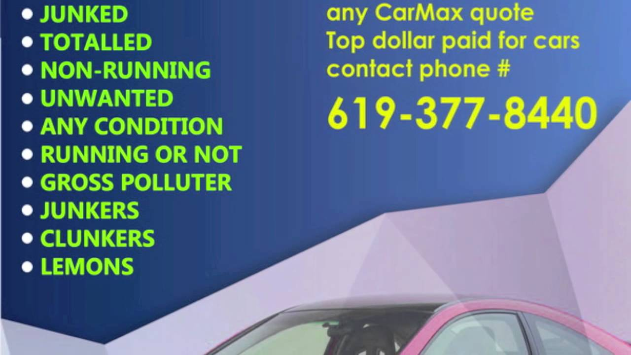 San Diego Used Car Buying Service   Used, Old, Junker, Clunker ...