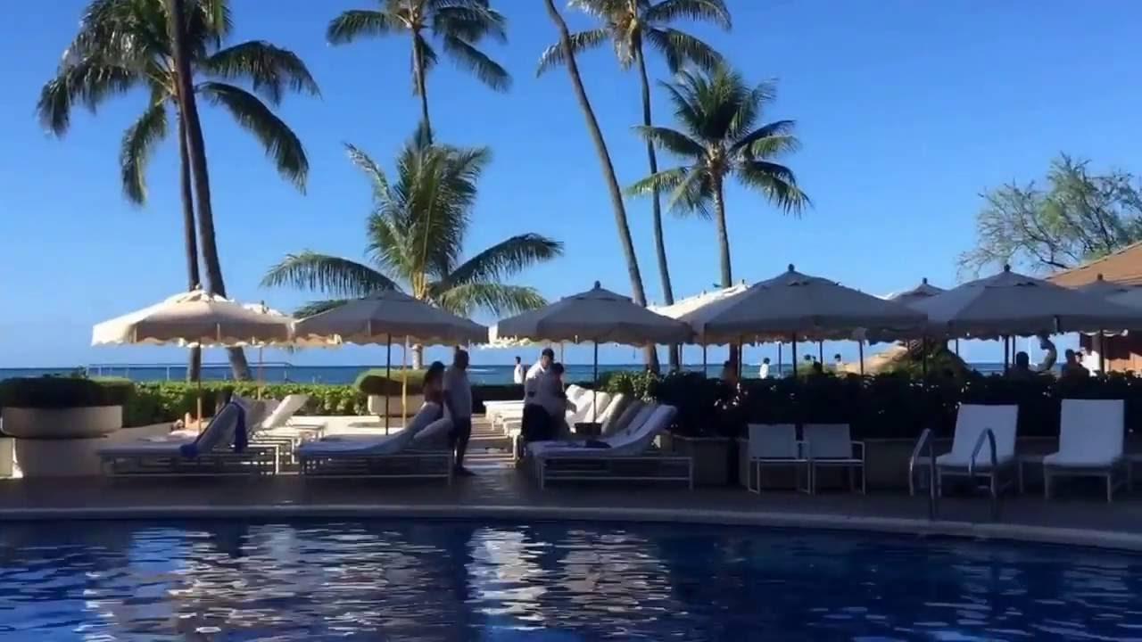 Halekulani Hotel Waikiki Beach