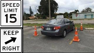 DMV EXAMEN  PRACTICO PARA LICENCIA DE MANEJO DE FLORIDA-Como pasar el TEST.