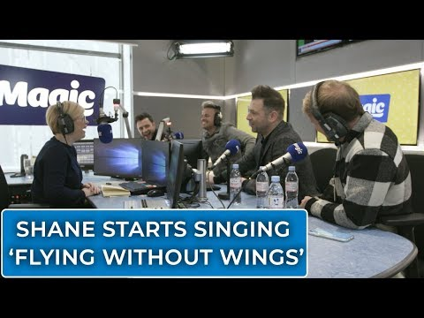 Shane does *THAT* croak | Emma B chats to Westlife