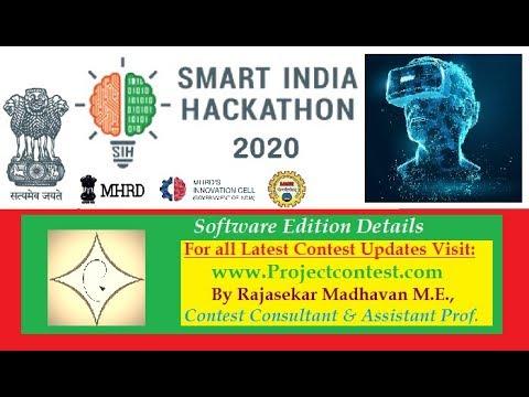 Smart India Hackathon(SIH)-2020 Problem Statements