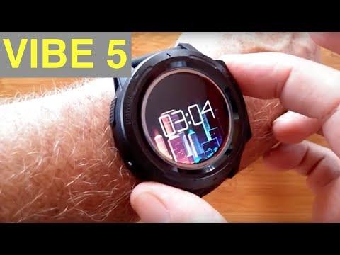 ZEBLAZE VIBE 5 Ruggedized IP67 Waterproof Multi Sport Color Screen Smart Watch: Unboxing & 1st Look