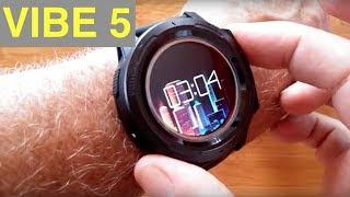 ZEBLAZE VIBE 5 Ruggedized IP67 Waterproof Multi Sport Color Screen Smart Watch