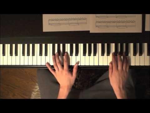 Tutorial  Sunshine Adagio in D Piano Solo