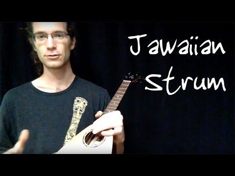 How To Play A Jawaiian Reggae Strum On Ukulele Part 2 Of 3 Youtube