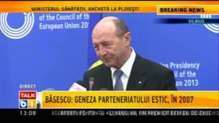 Traian Băsescu, veritabil promotor al unirii Moldovei cu România, cetăţean al republicii Moldova.