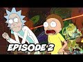 Rick And Morty Season 4 Episode 2 - TOP 10 WTF And Easter Eggs