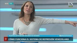 Inés Capdevila: ¿Cómo funciona el temible aparato de represión de Maduro?