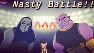 Verbalase - Darkseid Vs Thanos - Cartoon Beatbox Battles - Reaction