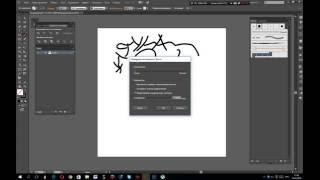 Урок Adobe Illustrator CC. Создаем свои арт кисти.
