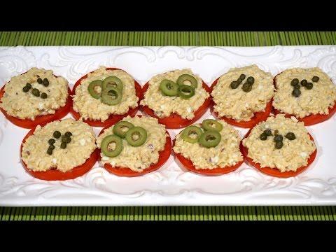 Салат из горбуши_Pink salmon salad