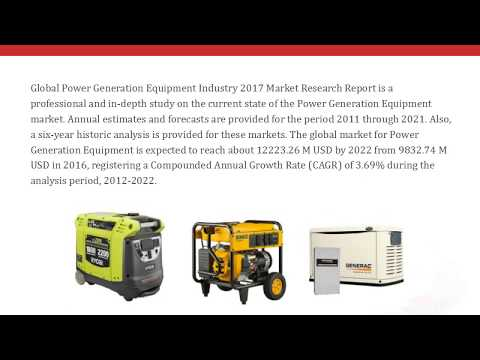 QYResearch: Global Power Generation Equipment Market will reach about 12223.26 M USD in 2022