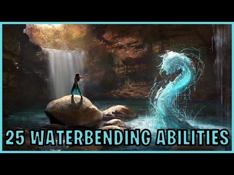 25 Waterbending Abilities (Avatar)