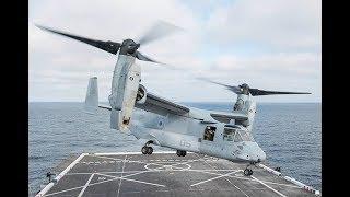 Wreckage from U.S. Marine Osprey crash found