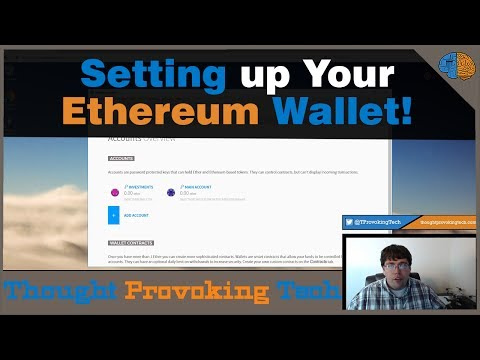 How to Setup Your First Ethereum Wallet!