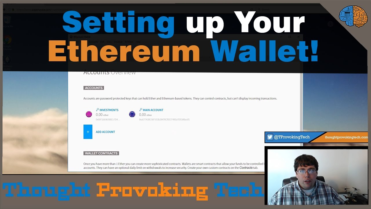 how do you setup a cryptocurrency wallet