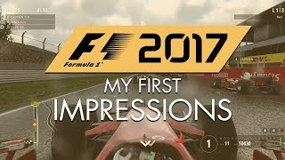 F1 2017 Game: First Impressions