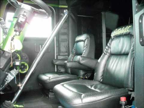 Peterbilt Truck Interior 3