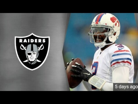 EJ  Manuel signs with the Oakland Raiders