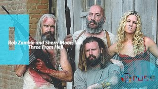 Rob Zombie And Sheri Zombie At 3 From Hell Premiere