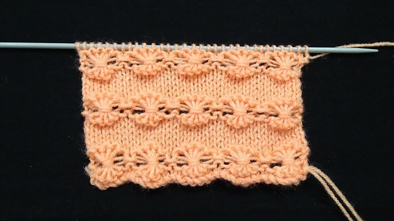 Knitting Pattern for Cardigan / Baby Sweater / Frock - YouTube
