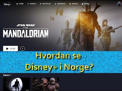 Hvordan se Disney+ i Norge?