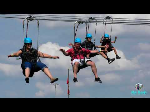 New Attraction 'MistRider' Zipline In Niagara Falls