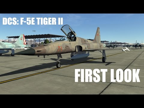 DCS: F-5E Tiger II Preview - ENGLISH